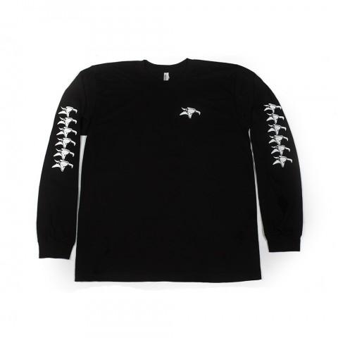 Animal Repeater Long Sleeve T-Shirt Black Medium