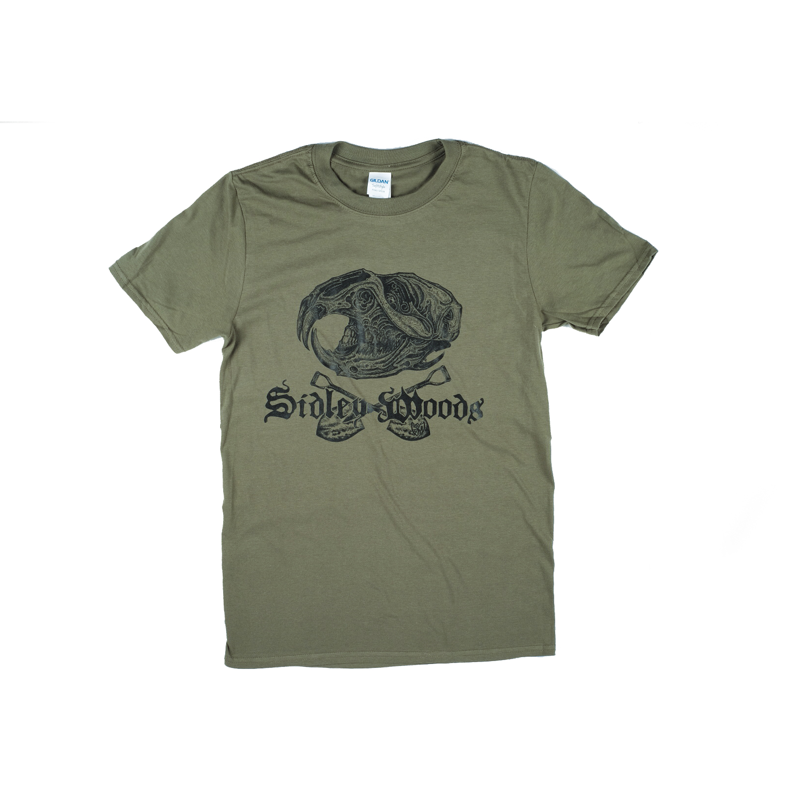 Sidley Woods T-Shirt Forest Green Large